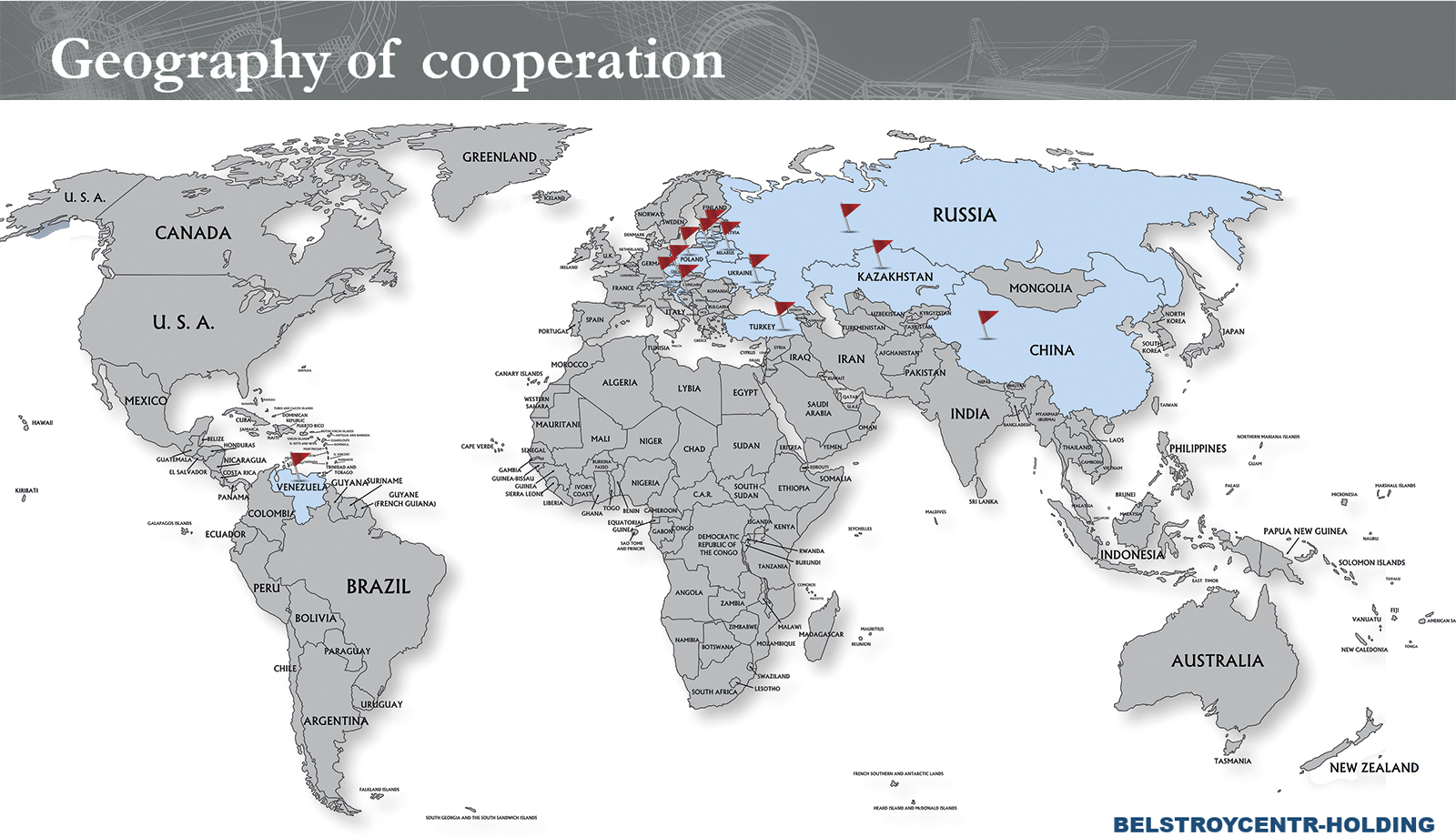 Geography of cooperation