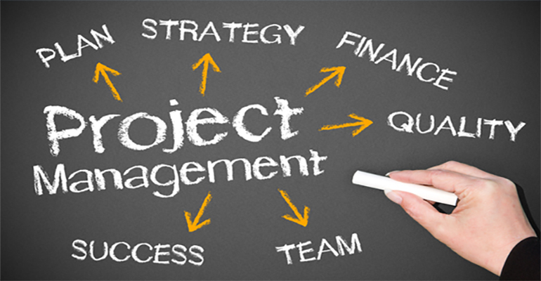 Project management and technical supervision in the construction